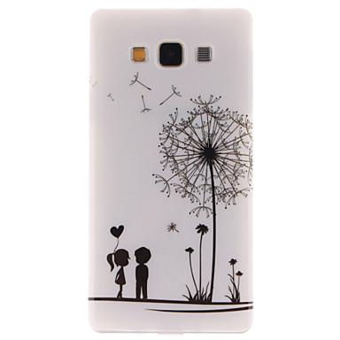 Para Samsung Galaxy Capinhas Estampada Capinha Capa Traseira Capinha Dente de Leão TPU Samsung A5