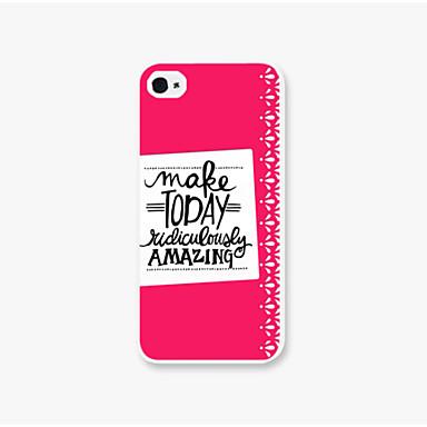 maak vandaag patroon pc telefoon terug case cover voor iphone5c iphone hoesjes