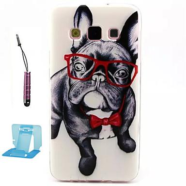 hoesje Voor Samsung Galaxy Samsung Galaxy hoesje Patroon Achterkantje Hond TPU voor A3