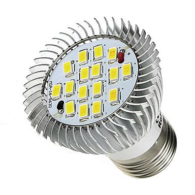 520-550 lm E26/E27 Lâmpadas de Foco de LED 16 leds SMD 5630 Branco Frio AC 85-265V