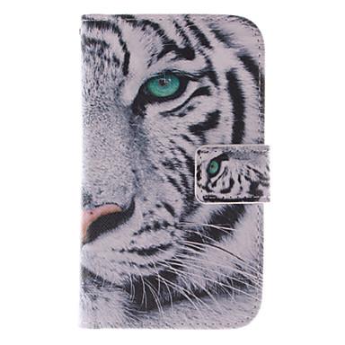 Capinha Para Samsung Galaxy Samsung Galaxy Capinhas Porta-Cartão Com Suporte Flip Estampada Capa Proteção Completa Animal PU Leather para