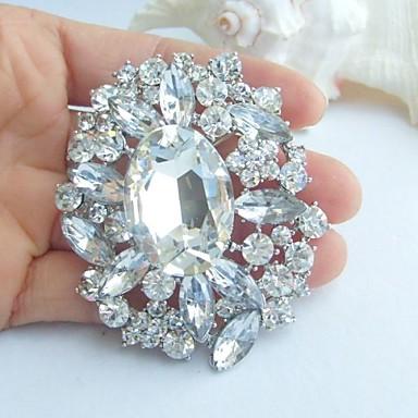 Bruids Gesimuleerde diamant Wit Sieraden Voor Bruiloft Feest Speciale gelegenheden  Verjaardag