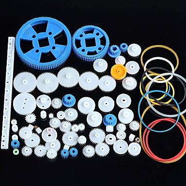80 soorten plastic gear motor gear versnellingsbak pakket robot accessoires kit