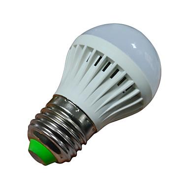 1,5W 2800-3200/6000-6500 lm E26/E27 LED Λάμπες Σφαίρα 10 leds SMD 2835 Θερμό Λευκό Ψυχρό Λευκό AC 220-240V