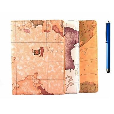 hoesje Voor iPad Air 2 met standaard Origami 360° rotatie Volledig hoesje Landschap PU-nahka voor iPad Air 2