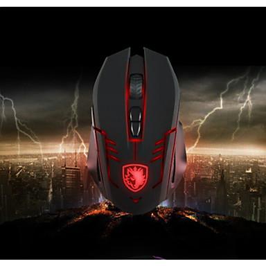 novas Sades novos 3500dpi óptico levou 6 botões Gaming Mouse para pro gamers zina