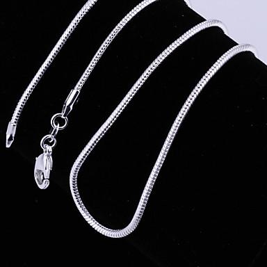 Női Divat Rövid nyakláncok Nyakláncok Ezüstözött Rövid nyakláncok Nyakláncok Esküvő Parti Napi Hétköznapi Jelmez ékszerek