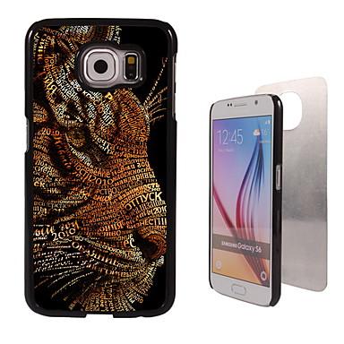 Para Samsung Galaxy Capinhas Case Tampa Estampada Capa Traseira Capinha Animal PC para Samsung Galaxy S6