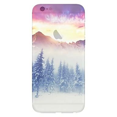 Capinha Para Apple iPhone 6 iPhone 6 Plus Estampada Capa traseira Cenário Macia TPU para iPhone 6s Plus iPhone 6s iPhone 6 Plus iPhone 6