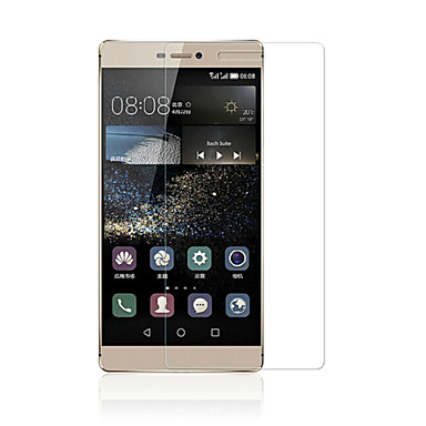 [5-pack] professionele hoge transparantie lcd kristalheldere screen protector met een reinigingsdoekje voor Huawei p8