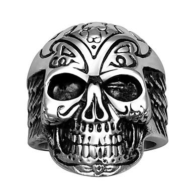 Κρίκοι Halloween Καθημερινά Causal Αθλητικά Κοσμήματα Ανοξείδωτο Ατσάλι Τιτάνιο Ατσάλι ΆντρεςΔαχτυλίδια για τη Μέση του Δαχτύλου