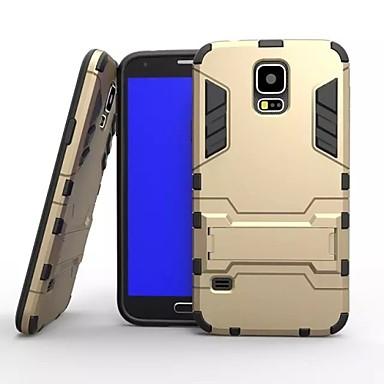tok Για Samsung Galaxy Samsung Galaxy Θήκη Ανθεκτική σε πτώσεις με βάση στήριξης Πίσω Κάλυμμα Πανοπλία PC για S5