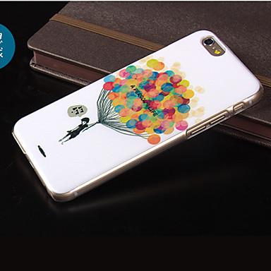 Para Capinha iPhone 5 Estampada Capinha Capa Traseira Capinha Balões Rígida PC para iPhone SE/5s iPhone 5