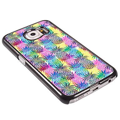 ανανά σκληρό αλουμίνιο υπόθεση για Samsung Galaxy s6 galaxy s σειρές περιπτώσεις / καλύμματα