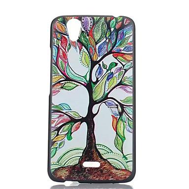 geschilderde boompatroon PC telefoon geval voor Wiko birdy