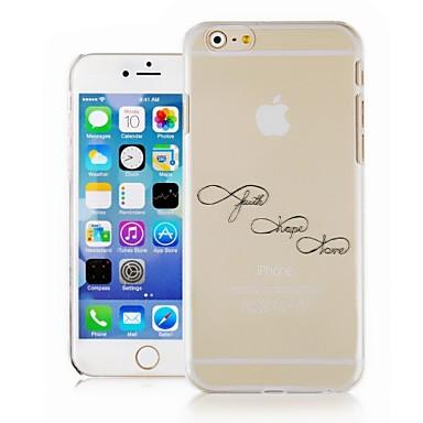 pomposo Inglês padrão caixa do telefone transparente de volta caso capa para o caso iphone6