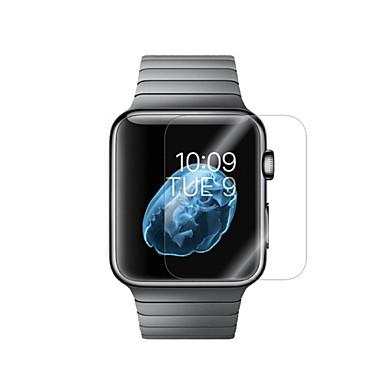 Недорогие Защитные пленки для Apple Watch-Защитная плёнка для экрана Назначение iWatch 42мм / iWatch 38мм Закаленное стекло HD / Взрывозащищенный 1 ед.