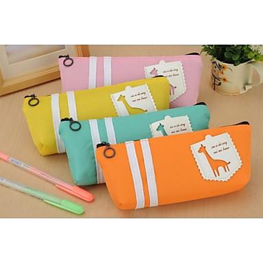 Willekeurige kleur - Schattig - Textiel - Vaste zakken -