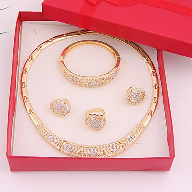 Κοσμήματα-Κολιέ / Cercei / Δακτυλίδια / Βραχιόλι(Κράμα / Στρας)Γάμου / Πάρτι / Καθημερινά Δώρα Γάμου
