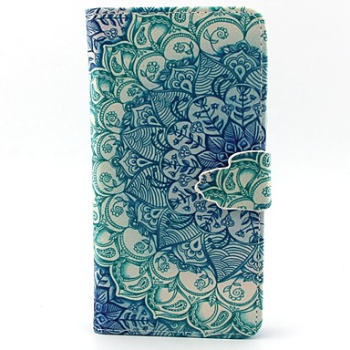 Para Samsung Galaxy Capinhas Porta-Cartão / Com Suporte / Flip / Magnética / Estampada Capinha Corpo Inteiro Capinha Mandala Couro PU