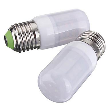 3,5 W 250-300 lm E26/E27 LED Λάμπες Καλαμπόκι T 27 leds SMD 5730 Θερμό Λευκό Ψυχρό Λευκό DC 12V
