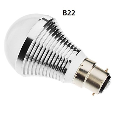 SENCART 630lm B22 / E26 / E27 Bombillas LED de Globo A60(A19) 15 Cuentas LED SMD 5730 Blanco Natural 85-265V