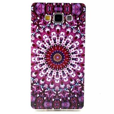 Voor Samsung Galaxy hoesje Patroon hoesje Achterkantje hoesje Bloem TPU Samsung A7 / A5 / A3