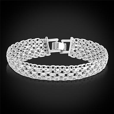 Damen Klobig Ketten- & Glieder-Armbänder Armband - Platiert, vergoldet Modisch Armbänder Golden Für Weihnachts Geschenke Hochzeit Party