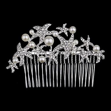 Vrouwen Bloemenmeisje Bergkristal Helm-Bruiloft Speciale gelegenheden Tiara's 1 Stuk