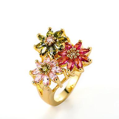 Dames Bandring Gouden Verzilverd Feest Dagelijks Causaal Kostuum juwelen