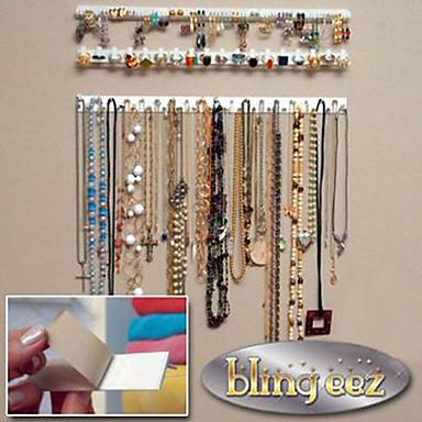 jóias com ganchos / joalheria / ganchos de parede / receber jóias rack 1 set