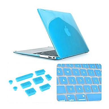 MacBook Hoes voor Effen Kleur Transparant Muovi MacBook Pro 13