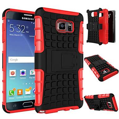 Voor Samsung Galaxy Note Schokbestendig / met standaard hoesje Achterkantje hoesje Pantser PC Samsung Note 5 / Note 4