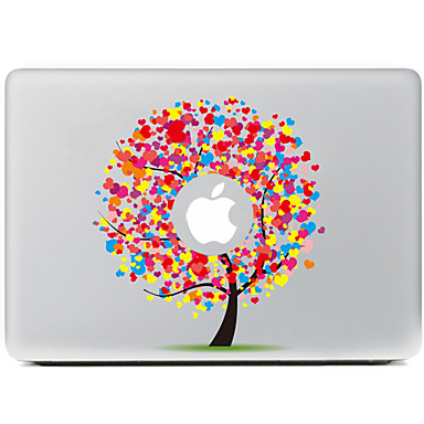 liefde boom decoratieve skin sticker voor MacBook Air / Pro / Pro met Retina-display