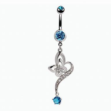 Dames Navelring / Navel Piercing Legering Lichaamssieraden Voor Dagelijks Causaal Kostuum juwelen