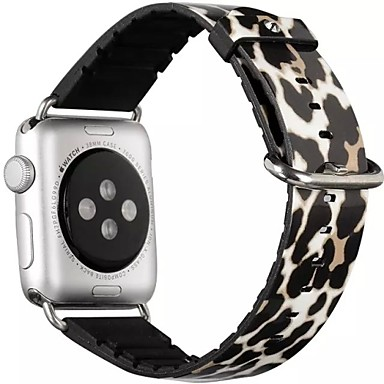 Horlogeband voor Apple Watch Series 3 / 2 / 1 Apple Polsband Klassieke gesp PU