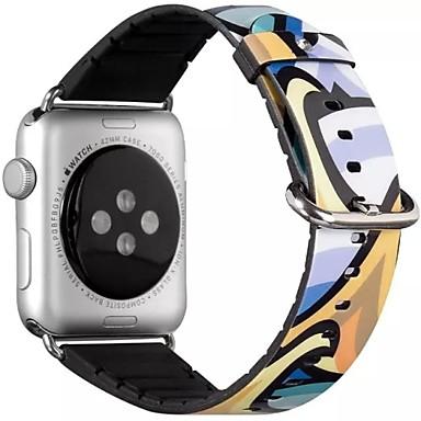 Horlogeband voor Apple Watch Series 3 / 2 / 1 Apple Klassieke gesp PU Polsband