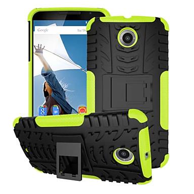 tok Για Motorola Θήκη Motorola Ανθεκτική σε πτώσεις με βάση στήριξης Πίσω Κάλυμμα Πανοπλία Σκληρή PC για