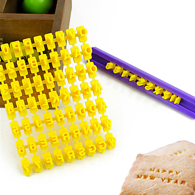 כלי Bakeware פלסטי ידידותי לסביבה עשה זאת בעצמך Cake עוגיה פאי כלי קישוט 1pc