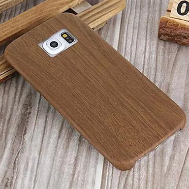 madeira fino caixa do telefone de couro macio para Samsung Galaxy S6 edge / S6