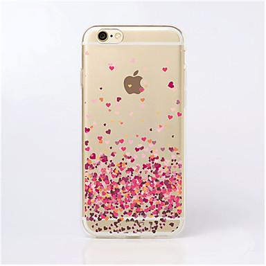 maycari®paved met liefde transparante TPU achterkant van de behuizing voor de iPhone 5 / iphone 5s