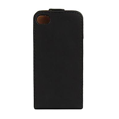 Coque Pour iPhone 4/4S Apple Coque Intégrale Dur faux cuir pour iPhone 4s/4