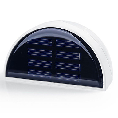 hry® 6 LEDs Light-έλεγχο αδιάβροχο υπαίθριο κήπο φράχτη οδό τοίχο φανός φωτισμού ηλιακό φως