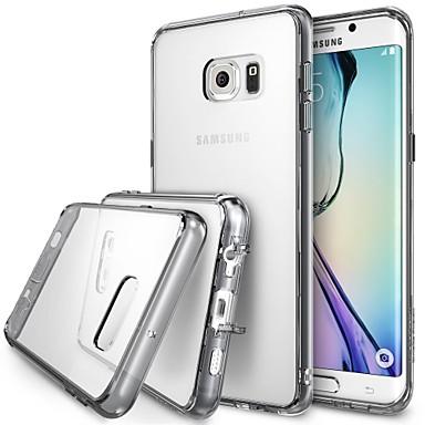 Για Samsung Galaxy Θήκη Διαφανής tok Πίσω Κάλυμμα tok Μονόχρωμη TPU Samsung S6 edge plus