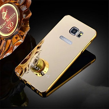 Voor Samsung Galaxy Note Beplating hoesje Achterkantje hoesje Effen kleur Metaal Samsung Note 5