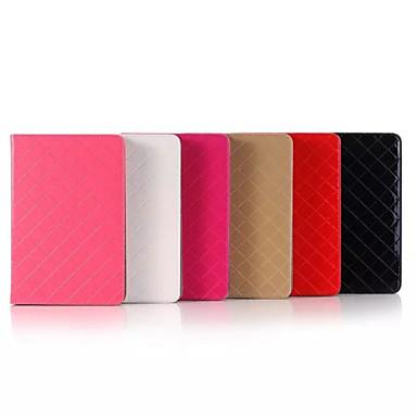7.9 polegadas de alta qualidade caso padrão de grade luxuoso pu couro para iPad mini 4 (cores sortidas)