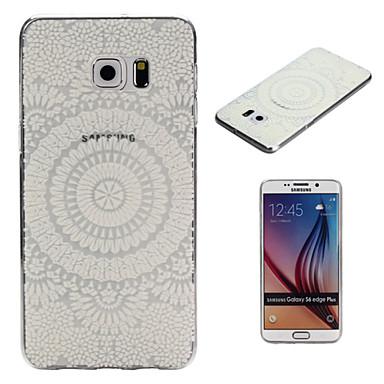 Para Samsung Galaxy Capinhas Transparente Capinha Capa Traseira Capinha Design de Renda TPU Samsung S6 edge plus