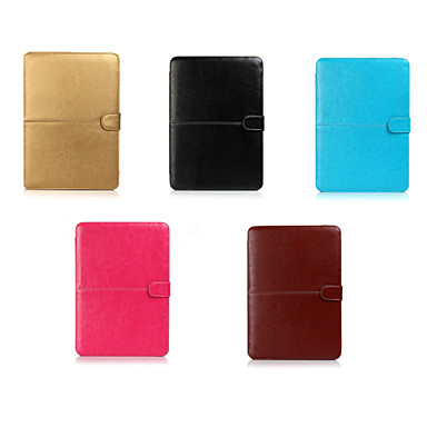 Capa para MacBook Sólido PU Leather para Macbook