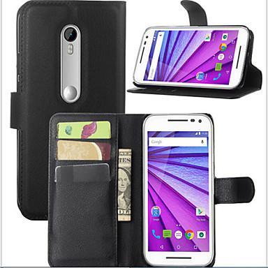 theembossed cardprotectivesleeve moto g 2015 mobilofoon shell voor Motorola Moto g3 mobiele telefoon