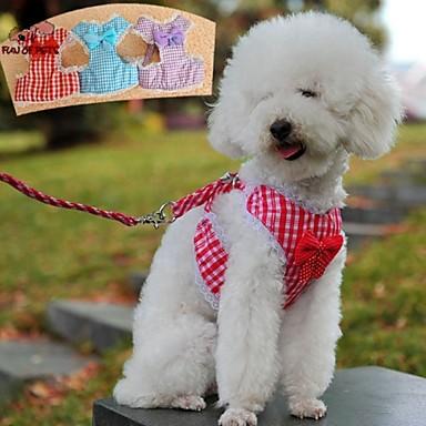Hond harnassen Lijnen Verstelbaar / Uitschuifbaar Cosplay Nylon Paars Roos Rood Blauw